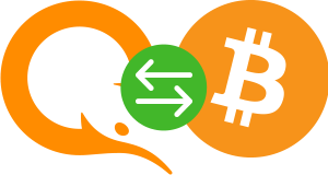 Онлайн обмен QIWI RUB на Bitcoin (BTC)