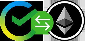 Онлайн обмен Сбербанк RUB на Ethereum (ETH)
